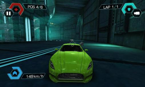 Screenshots vom Spiel Cyberline: Racing für iPhone, iPad oder iPod.