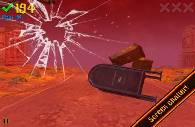 Screenshots of the Cyclone Dash game for iPhone, iPad or iPod.