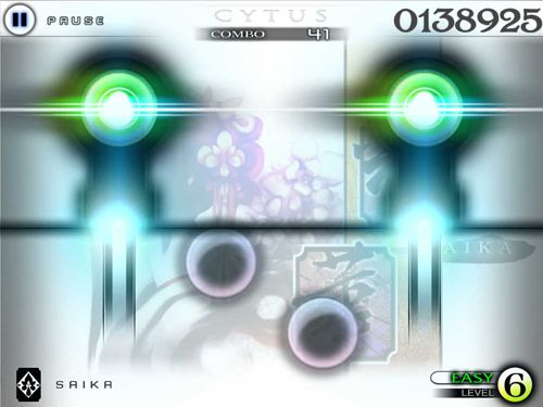 Capturas de pantalla del juego Cytus para iPhone, iPad o iPod.