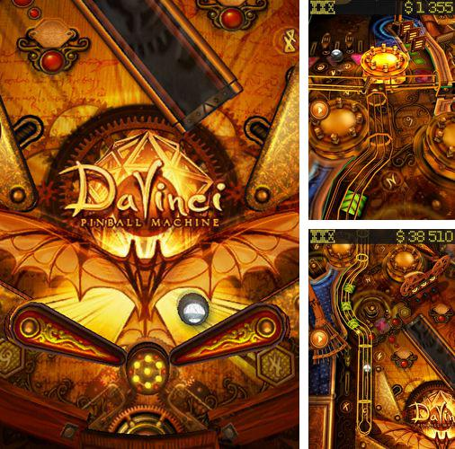 In addition to the game Exo gears for iPhone, iPad or iPod, you can also download Da Vinci pinball for free.