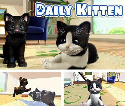 Daily kitten: Virtual cat pet
