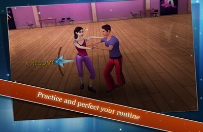 Screenshots vom Spiel Dancing with the Stars On the Move für iPhone, iPad oder iPod.