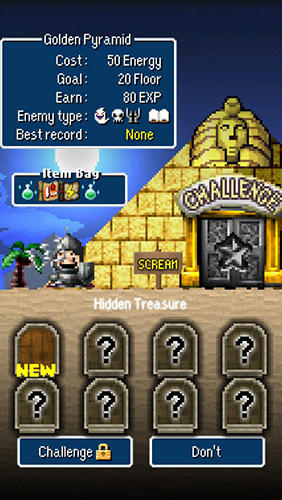 Screenshots do jogo Dandy dungeon para iPhone, iPad ou iPod.