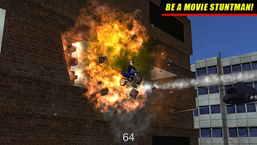 Download Daredevil Dave 2: Motorcycle mayhem iPhone free game.