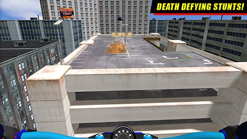 Écrans du jeu Daredevil Dave 2: Motorcycle mayhem pour iPhone, iPad ou iPod.