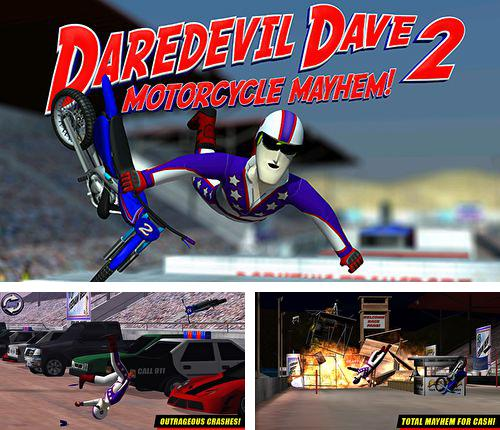 In addition to the game Bad dinos for iPhone, iPad or iPod, you can also download Daredevil Dave 2: Motorcycle mayhem for free.