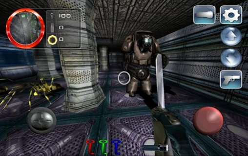 Screenshots of the Dark area 2 game for iPhone, iPad or iPod.