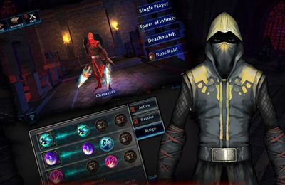 Descarga gratuita de Dark Avenger para iPhone, iPad y iPod.