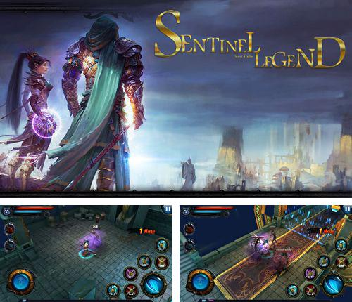 除了 iPhone、iPad 或 iPod 游戏,您还可以免费下载Dark descent: Sentinel legend, 。