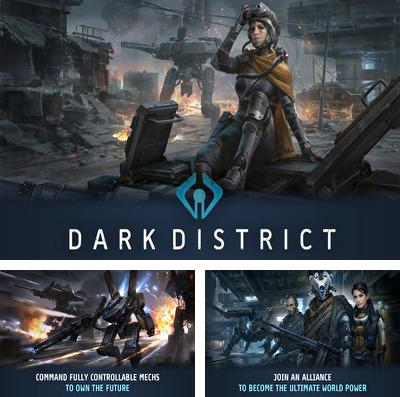 In addition to the game Battlehand heroes for iPhone, iPad or iPod, you can also download Dark District for free.