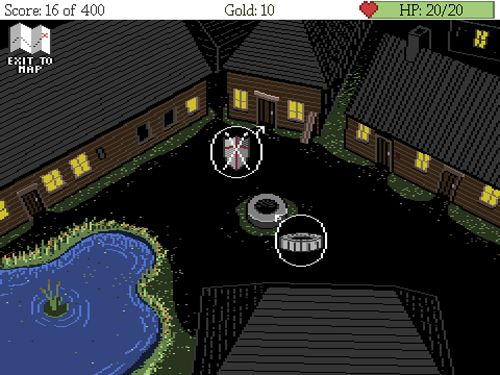 Download Dark fear iPhone free game.
