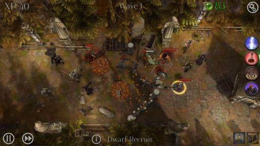 Screenshots of the Dark Frontier game for iPhone, iPad or iPod.
