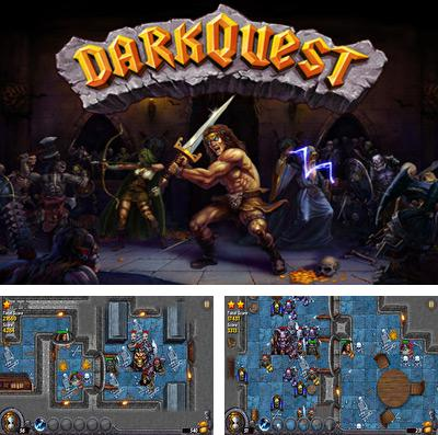 In addition to the game 1-bit hero for iPhone, iPad or iPod, you can also download Dark-Quest for free.