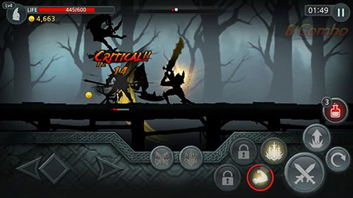 Screenshots of the Dark sword game for iPhone, iPad or iPod.