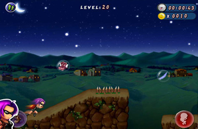 Écrans du jeu Darkness Escape Deluxe pour iPhone, iPad ou iPod.