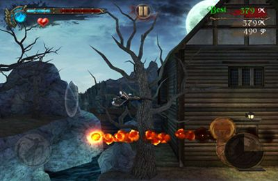 Screenshots vom Spiel Darkness Rush: Saving Princess für iPhone, iPad oder iPod.