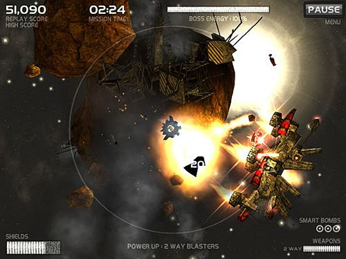 Screenshots of the Darkside game for iPhone, iPad or iPod.