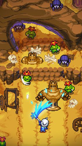 Screenshots of the Dash quest 2 game for iPhone, iPad or iPod.