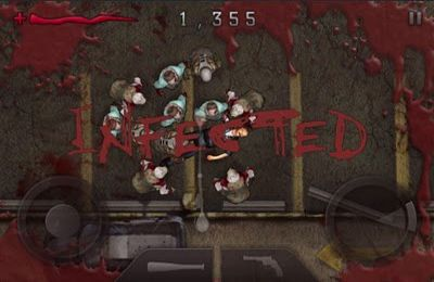 Screenshots vom Spiel Dawn of the Dead für iPhone, iPad oder iPod.