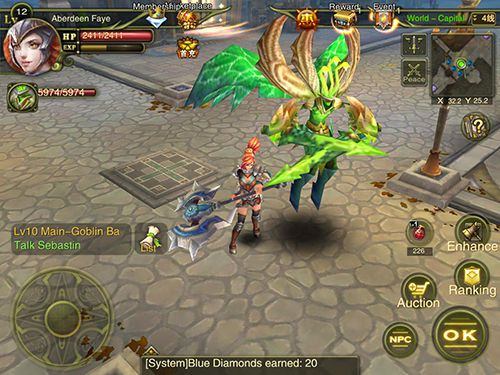 Kostenloser Download von Dawn of the immortals für iPhone, iPad und iPod.