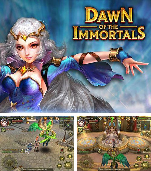 In addition to the game Zombie tales for iPhone, iPad or iPod, you can also download Dawn of the immortals for free.