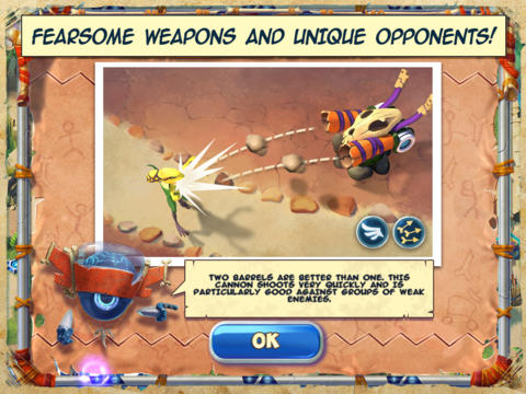 Screenshots vom Spiel Day D Time Mayhem für iPhone, iPad oder iPod.