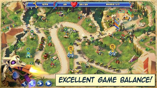 Screenshots of the Day D: Tower rush game for iPhone, iPad or iPod.