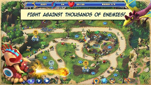 Capturas de pantalla del juego Day D: Tower rush para iPhone, iPad o iPod.
