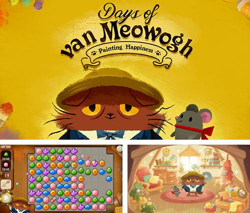 除了 iPhone、iPad 或 iPod 游戏,您还可以免费下载Days of van Meowogh, 。