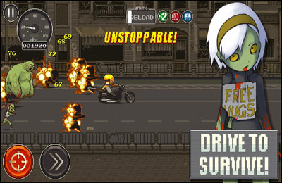 Screenshots of the Dead Ahead game for iPhone, iPad or iPod.