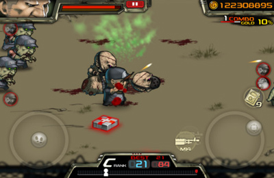 Screenshots vom Spiel Dead City PLUS für iPhone, iPad oder iPod.