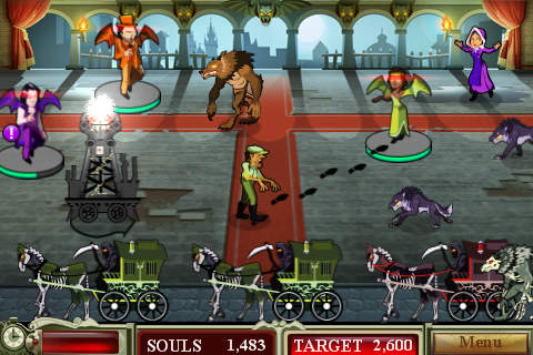 Screenshots of the Dead of night game for iPhone, iPad or iPod.