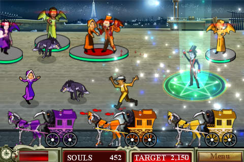 Screenshots vom Spiel Dead of night für iPhone, iPad oder iPod.
