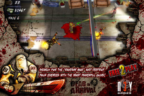 Descarga gratuita de Dead on arrival para iPhone, iPad y iPod.