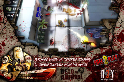 Écrans du jeu Dead on arrival pour iPhone, iPad ou iPod.