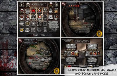 Screenshots of the Dead On Sight game for iPhone, iPad or iPod.
