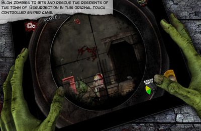 Screenshots vom Spiel Dead On Sight für iPhone, iPad oder iPod.
