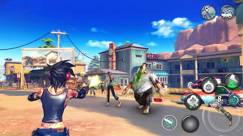 Free Dead rivals: Zombie MMO download for iPhone, iPad and iPod.