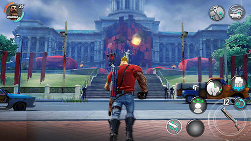 Screenshots do jogo Dead rivals: Zombie MMO para iPhone, iPad ou iPod.