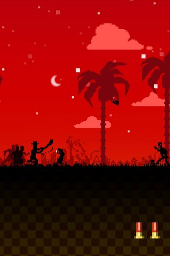 Screenshots of the Dead run game for iPhone, iPad or iPod.