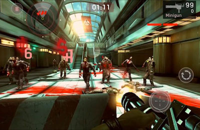 Download Dead Trigger iPhone free game.