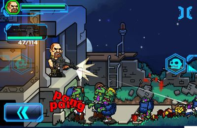 Capturas de pantalla del juego Dead Zone HD – The Living Daylights para iPhone, iPad o iPod.