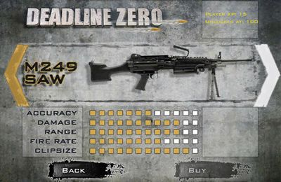 Screenshots of the Deadline Zero – Seek and Destroy game for iPhone, iPad or iPod.