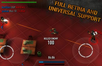 Screenshots of the Deadlock: Online game for iPhone, iPad or iPod.