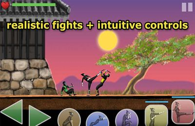 Écrans du jeu Deadly Mira: Ninja Fighting Game pour iPhone, iPad ou iPod.