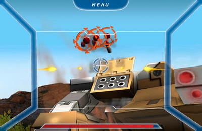Capturas de pantalla del juego DEATH COP - Mechanical Unit para iPhone, iPad o iPod.