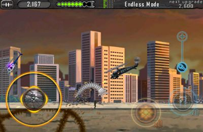Screenshots do jogo Death Worm para iPhone, iPad ou iPod.