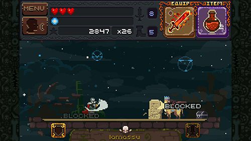 Screenshots vom Spiel Deep dungeons of doom für iPhone, iPad oder iPod.