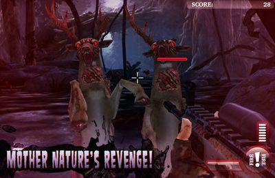 Free Deer Hunter: Zombies download for iPhone, iPad and iPod.