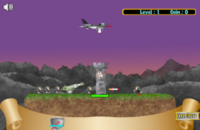 Download Defend The Fortress iPhone free game.